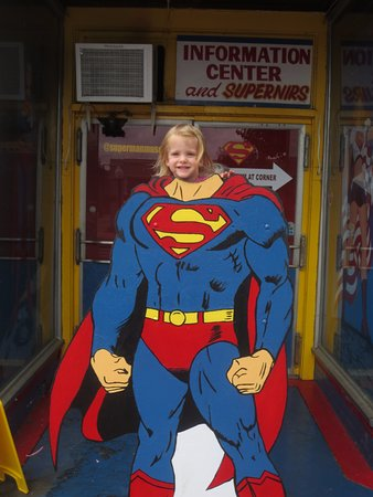 Metropolis, IL: Being Superman (3-year old)