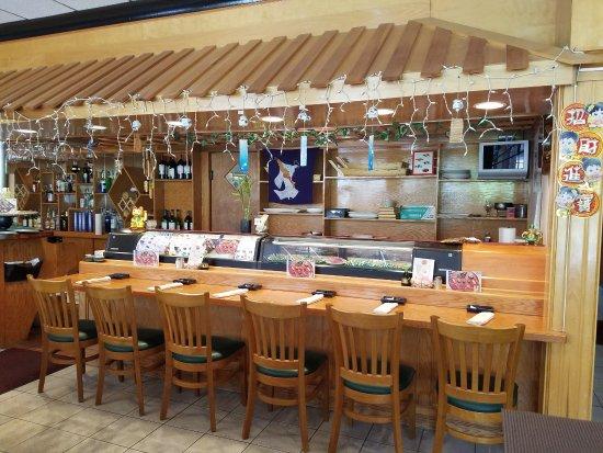 Brattleboro, VT: Sushi bar