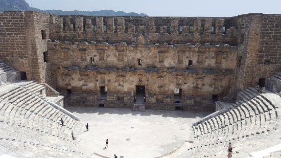 Serik, Turkey: Theater with 15,000 seating capacity