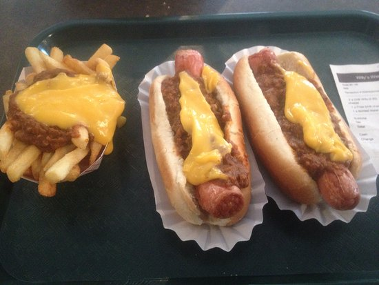 Port Murray, NJ: Chili Cheese and chil cheese fries