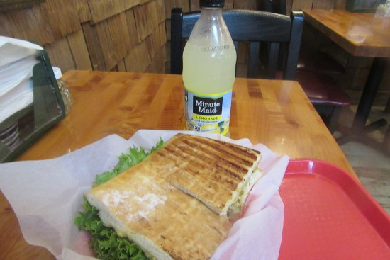Turkey Foccacia and Lemonade, Granzella's Restaurnat & Deli, Williams, Ca