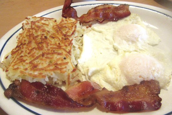 Hash Browns, Eggs, Bacon, iHOP, Milpitas, Ca
