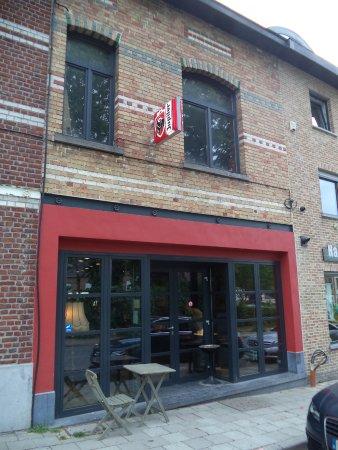 Dilbeek, Belgique : L'entrée