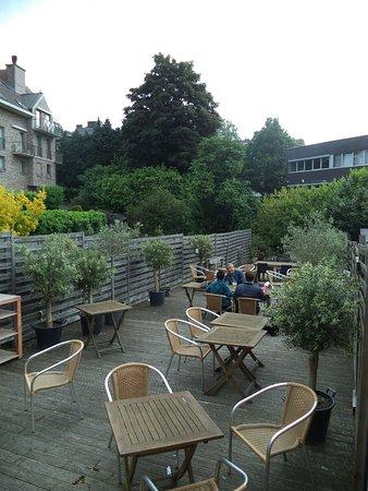 Dilbeek, بلجيكا: Le jardin-terrasse
