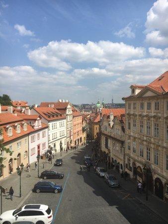 Wundervolle Aussicht im historischen Stadtkern