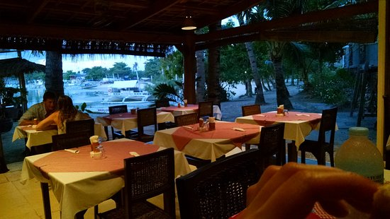 Ristorante Angelina: bay view from the restaurant