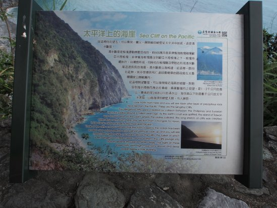 Qingshui Cliff: The Historical Board