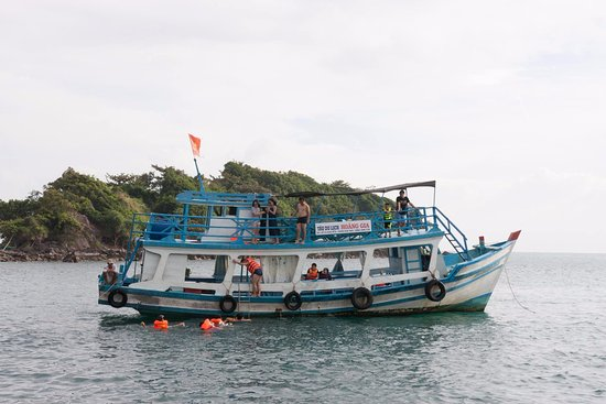Kien Giang Province, เวียดนาม: Hoang Gia boat