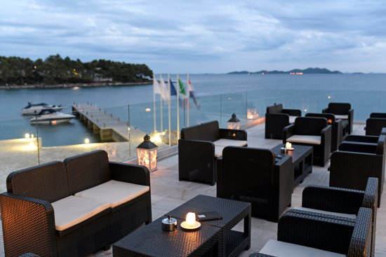 Il Moro Restaurant: View from terrace