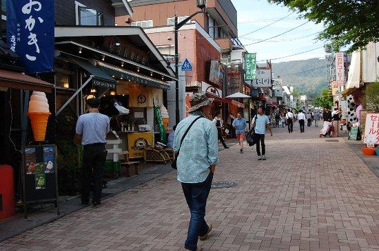 Karuizawa-machi, Giappone: 歩きやすい通りです。