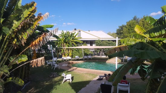 Fitzroy River Lodge: From the verandah of our room