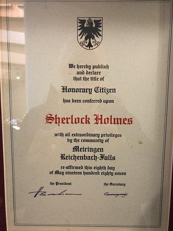 Sherlock Holmes Museum : photo1.jpg
