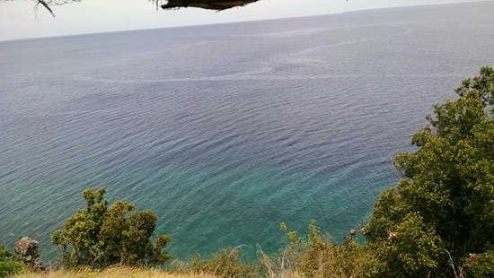 Leyte Island, Filippinerne: currents in the sea