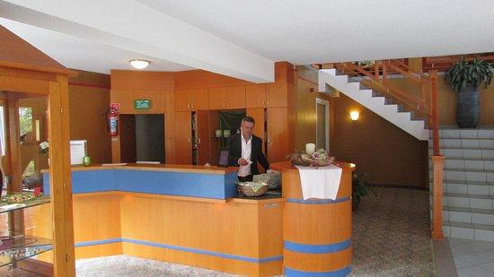 Eifelgold Rooding Hotel: De receptie