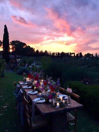 Montespertoli, Italien: Ristorante Borgo Divino