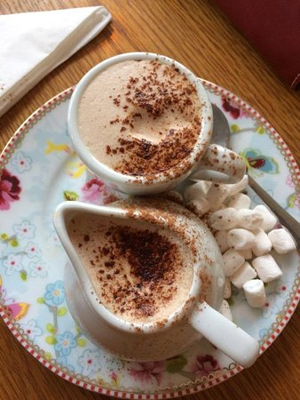 Longton, UK: Hot Chocolate
