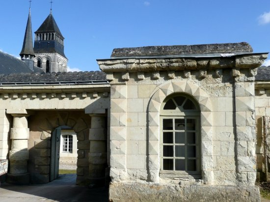 Fontevraud-l'Abbaye, Francia: Magnifique Abbaye Royale de Fontevraud.