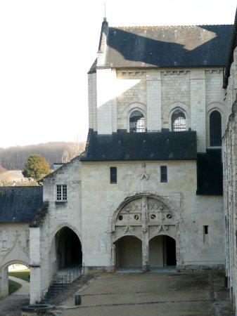 Fontevraud-l'Abbaye, Frankrike: Magnifique Abbaye Royale de Fontevraud.