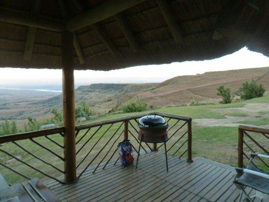 Bergville, แอฟริกาใต้: Views from veranda