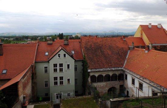 Aussicht Ptuj Schloss