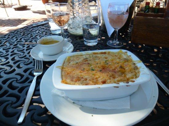 Bergville, แอฟริกาใต้: Chicken and mushroom lasagne