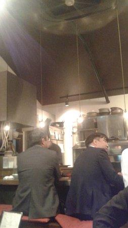 Itami, اليابان: カウンター席 雰囲気
