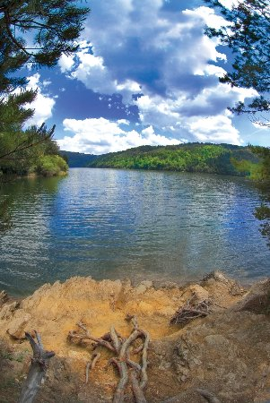 Republic of Macedonia: Dojran lake surrounding