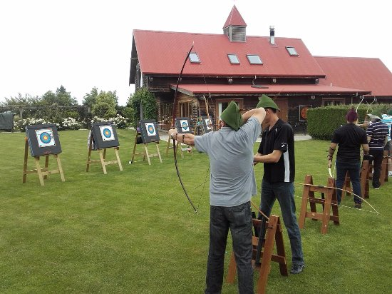 Blenheim, Selandia Baru: Archery - lots of fun