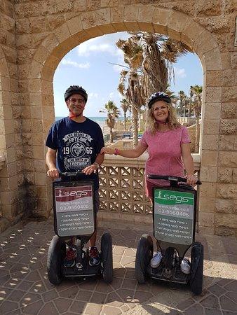 Segs - Segway Tours : Segs Jaffa tour