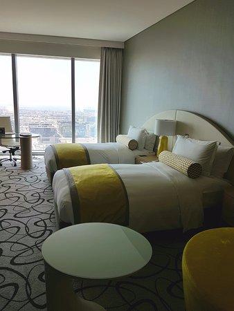 Twin room. Seaview. 23rd floor