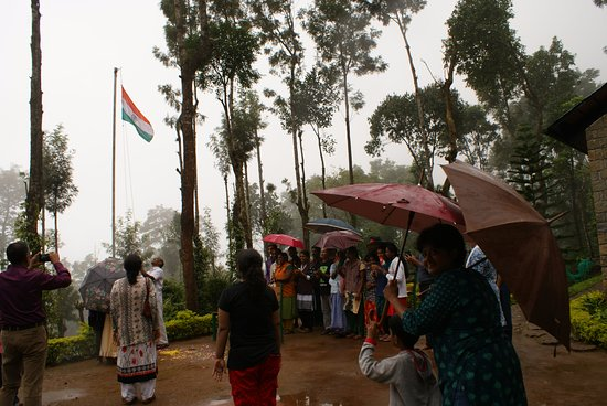 Kaivalyam Retreat: independence day celebrations at the retreat...awesome !!!