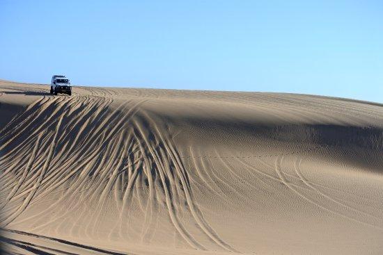 Walvis Bay, Namibia: 4x4 dans les dunes