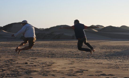 Walvis Bay, Namibia: nos chauffeurs lol