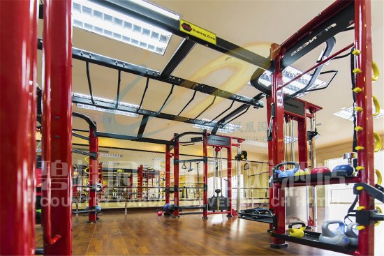 Huizhou, China: 健身房