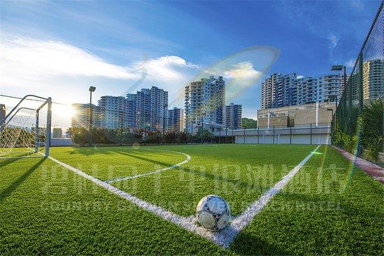Huizhou, China: 五人足球场