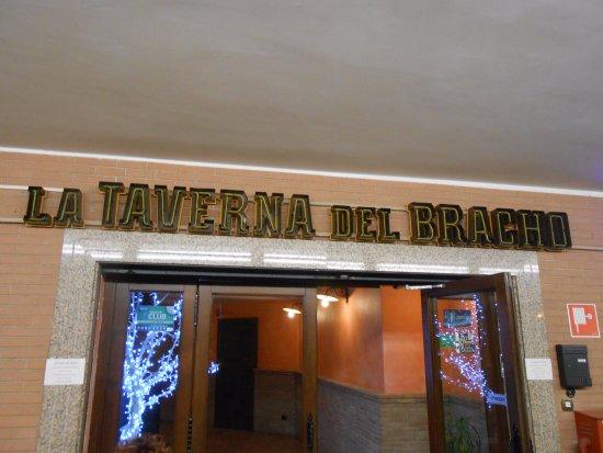 La Taverna del Bracho: l'ingresso