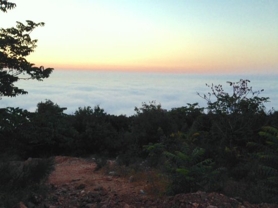 View from Ehden, on top of clouds