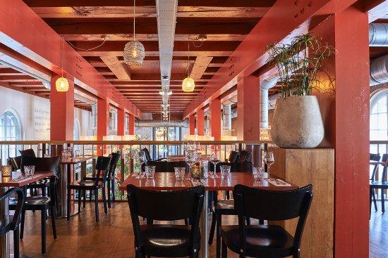 arsenaal 1824 restaurant interieur brasserie vlaams arsenaal nijmegen