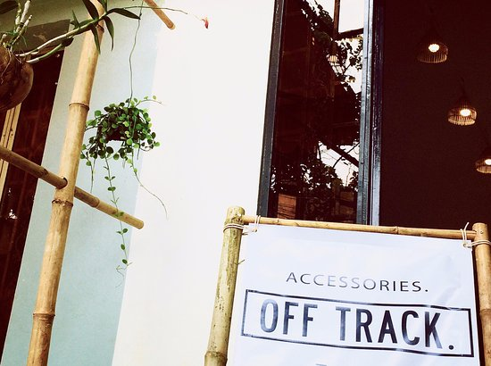 OFF TRACK Accessories - handmade, fair, unique