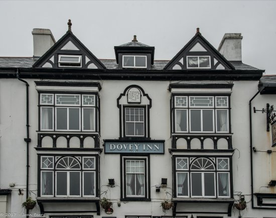 Aberdyfi (Aberdovey), UK: Front of Hotel.