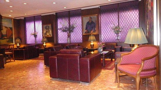 هوتل هولت: Lobby area