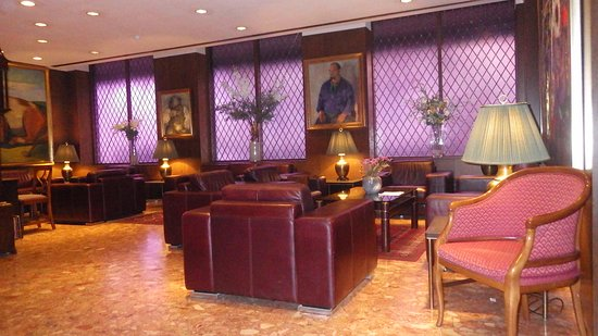 Hotel Holt: Lobby area