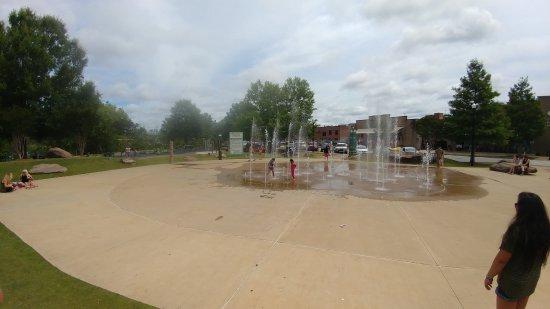 Columbus Riverwalk: Scope of Splash pad