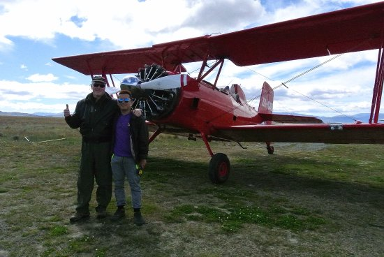 Twizel, Nya Zeeland: Red Cat plane