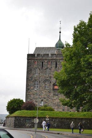 Rosenkrantz Tower - Bymuseet i Bergen : Вид сбоку