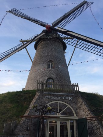 Weert, Países Bajos: The location windmill