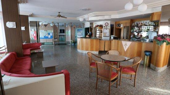 Hotel Gabbiano: Hall