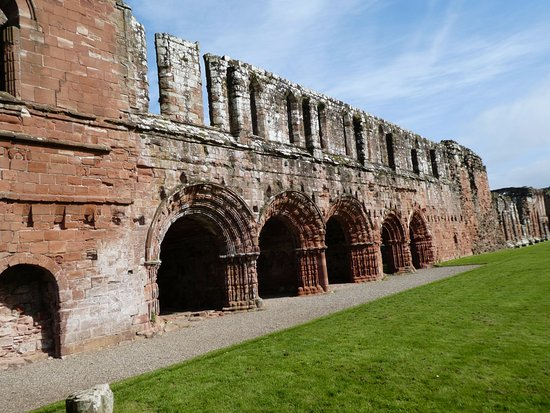 Barrow-in-Furness, UK: The East Range of the cloister