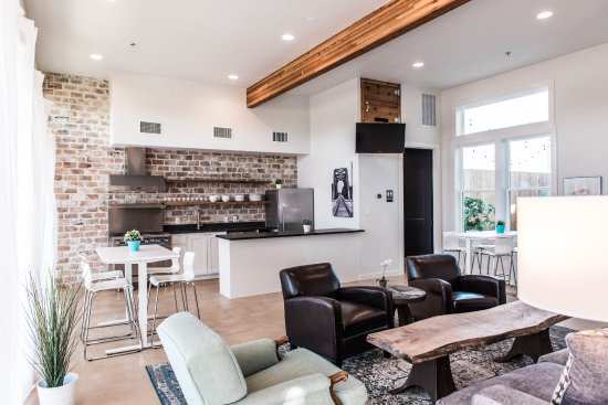 Common clubhouse has lounging area, full kitchen and a stocked fridge.