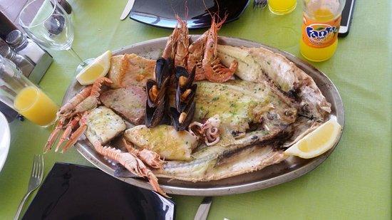 Νησιά Βαλεαρίδες, Ισπανία: Pescado y marisco variado